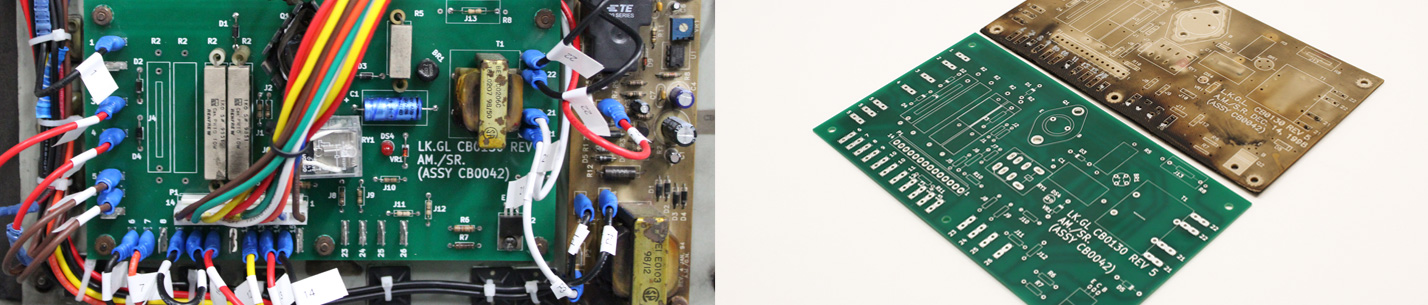 emergency light inverter replacement board