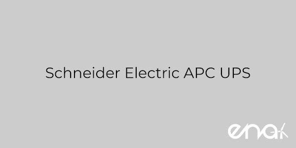 Schneider Electric APC UPS