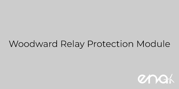 Woodward Relay Protection Module