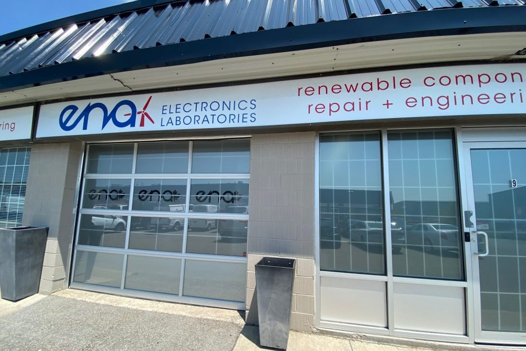 photo of the reverse engineering office with the ENA logo